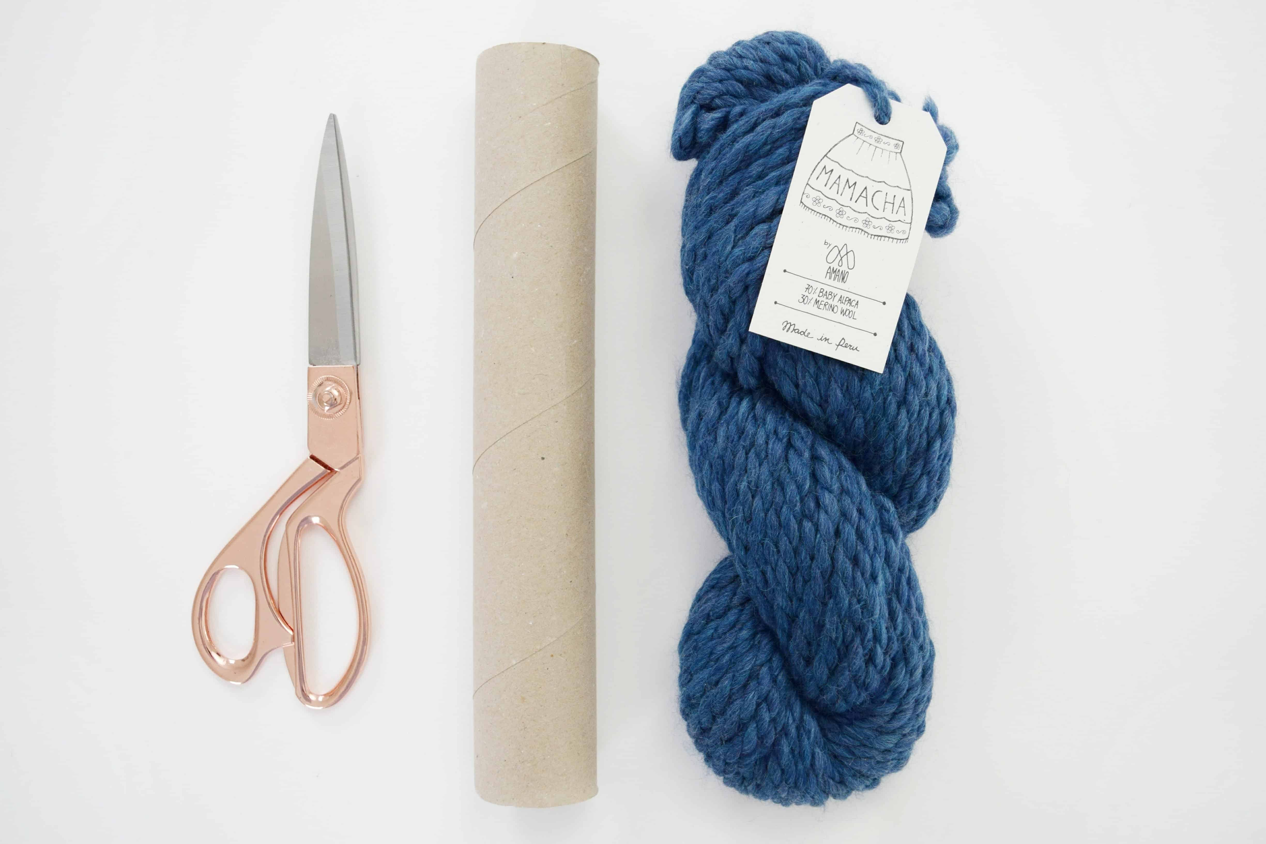 How To Wind A Yarn Ball Knifty Knittings