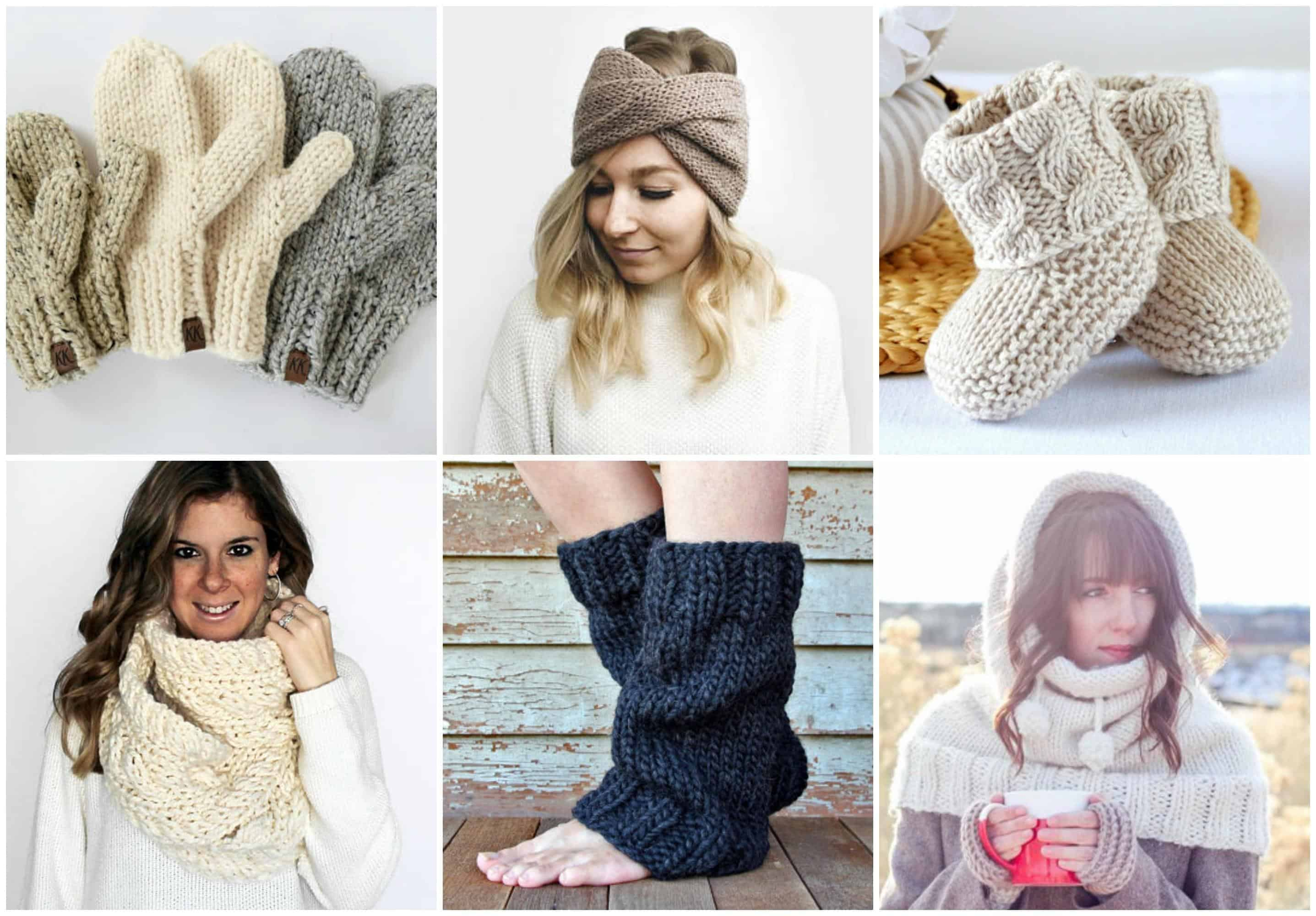 Weekend Knits Knitting Pattern Bundle