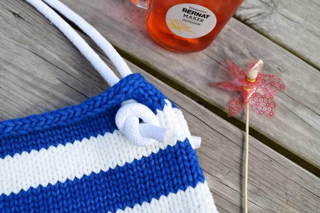 Beachcomber Tote – Free Knitting Pattern