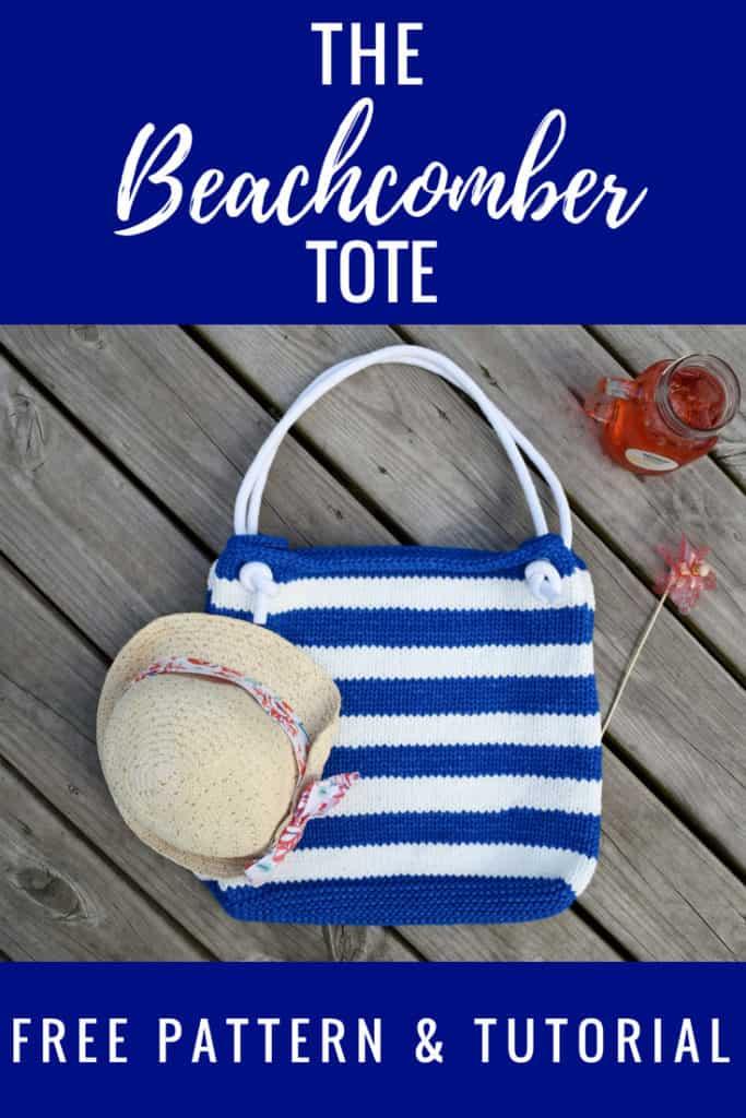 Beachcomber Tote Free Knitting Pattern