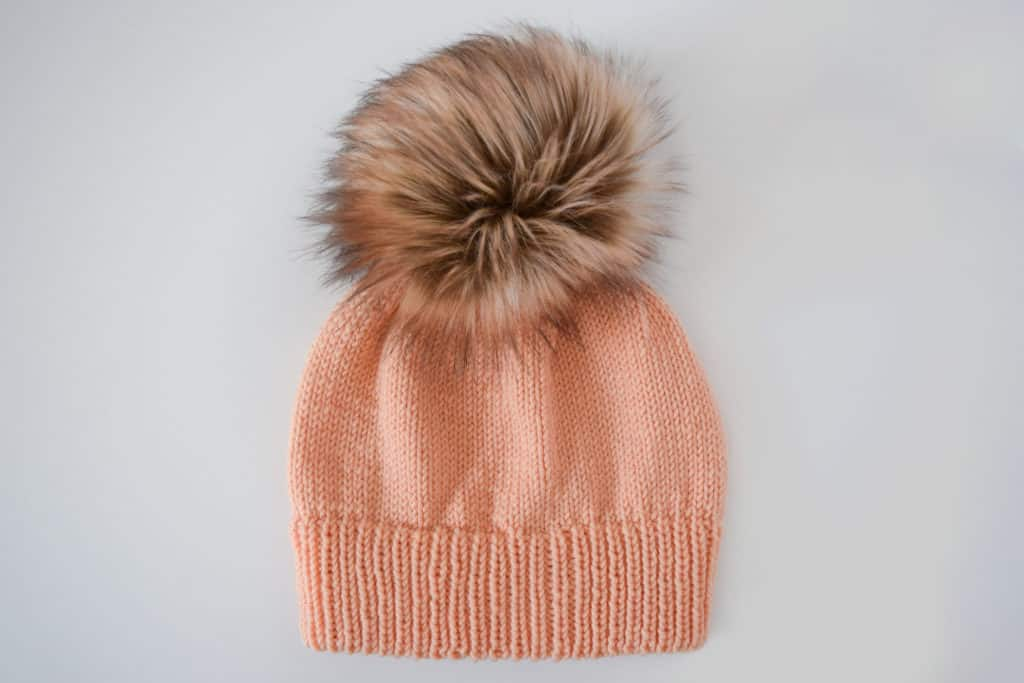 Ribbed Double Brim Knit Hat – Free Pattern