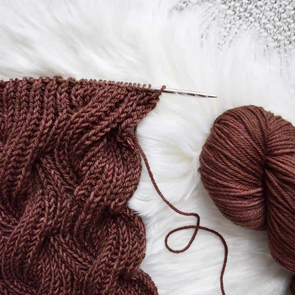 The Rosewood Scarf - Free Pattern