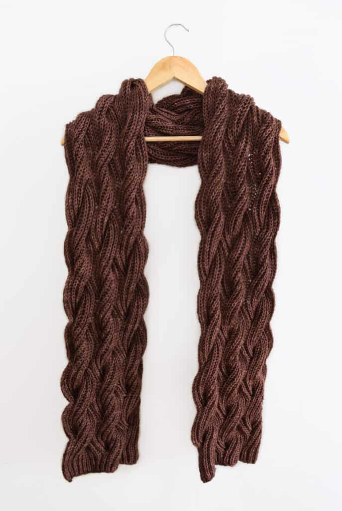 The Rosewood Scarf Free Pattern